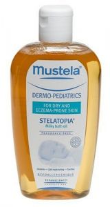 Mustela Dermo-pediatrics Stelatopia Milky Bath Oil 6.7 Fl.oz