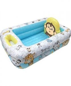 Disney Inflatable Toys - Garanimals - Inflatable Safety Baby Bathtub
