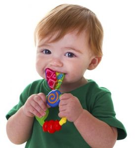 Nuby Baby Care (Misc) - Nuby Wacky Teething Ring