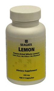 Seagate Health Supplements - Seagate Products Whole Lemon Concentrate Supplements 450 mg, 100 Vegetable Capsules