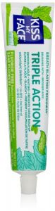 Kiss My Face Triple Action Gel Toothpaste, 4.5 Ounce