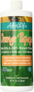Aloe Life Nutritional Supplements, Orange Papaya, 32 Ounce
