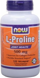 L-proline 500mg 120 Vegicaps