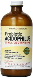 American Health Probiotic Acidophilus, Plain, 16 Ounce