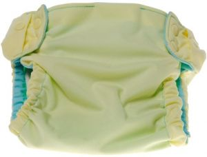 Sprout Change Reversible And Reusable Diaper Shell, Lemon Ice