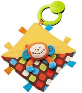 B Kids Peek, A, Boo Teething Snuggle PAL