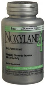 Lane Labs Noxylane 4 Veggie Capsules, 50-count Bottle