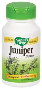"Nature""s Way - Juniper Berries, 425 Mg, 100 Capsules"