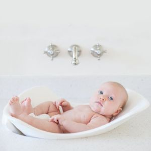 Puj Tub - Soft Infant Bath White
