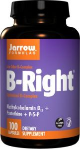 Jarrow Formulas B-right Complex, 100 Veggie Caps