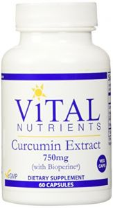Vital Nutrients Curcumin Extract 750 Mg 60 Vcaps