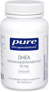 Pure Encapsulations - Dhea Micronized 10mg 180 Vegicaps [health And Beauty]