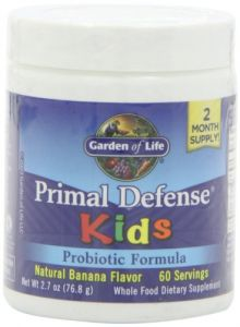 Garden Of Life Primal Defense Kids, Natural Banana Flavor, 76.8g Powder