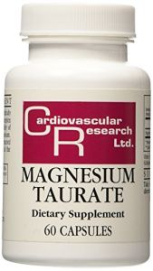 Ecological Formulas Magnesium Taurate 125 Mg 60 Caps