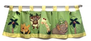 Nojo Jungle Babies Window Valance