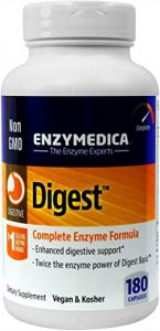 Enzymedica - Digest - Complete Digestive Enzyme Formula, 180 Capsules