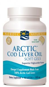 Nordic Naturals - Arctic Clo, Heart And Brain Health, And Optimal Wellness, Soft Gels 90 Count