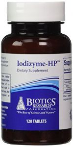 Biotics Research Iodizyme-hp 120tabs