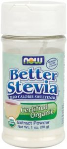 Now Foods Stevia White Extract Powder, 1 Ounces (pack Of 2)