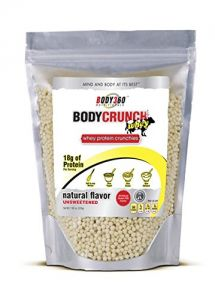 Bodycrunch Whey Protein Crunchies Natural Unsweetened Flavor, 7.62 Ounce
