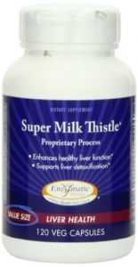 Enzymatic Therapy Super Milk Thistle, 120 Ultra Caps