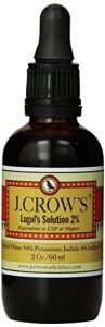 "J.crow""s Lugol""s Solution Of Iodine 2% 2oz"