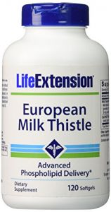 European Milk Thistle By Life Extension 120 Softgels