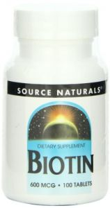 Source Naturals Biotin 600mcg, 100 Tablets