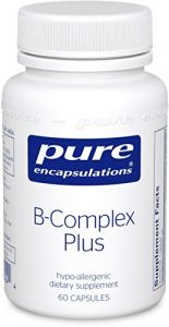 Pure Encapsulations - B-complex Plus 60 Vegicaps