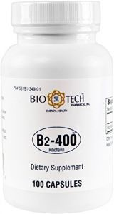 Biotech Pharmacal - B2-400 Riboflavin - 100 Count