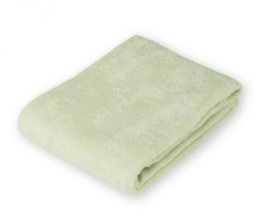 American Baby Company Organic Terry Cloth Flat Fitted Changing Pad Cover, Sage