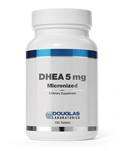 Dhea 5 Mg Micronized 100 Tablets By Douglas Laboratories