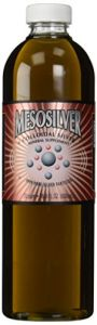 Mesosilver 20 Ppm Colloidal Silver, 500 Ml/16.9 Oz