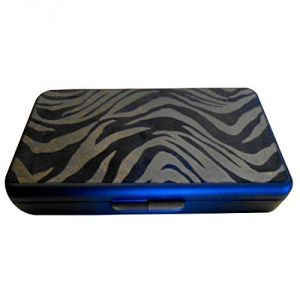 K. Quinn Designs Wipe Case, Foiled Zebra