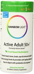 Rainbow Light Active Adult 50+ Multivitamin, 90 Tablets
