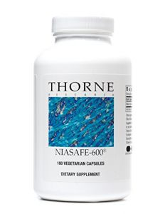 Thorne Research - Niasafe-600 - 180 Vegetarian Capsules