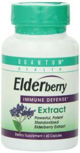 Quantum Health & Fitness - Quantum Elderberry Capsule, 60-Count