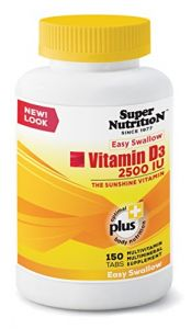 Supernutrition Vitamin D3 - 2500 Iu - 150 Tab