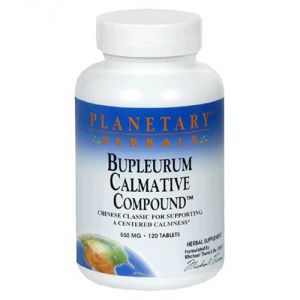 Planetary Herbals Bupleurum Calmative Compound, 550 Mg, Tablets, 120 Tablets (pack Of 2)
