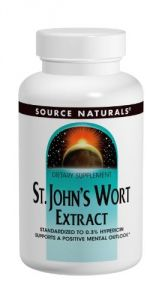 "Source Naturals St. John""s Wort 300mg, 240 Tablets"