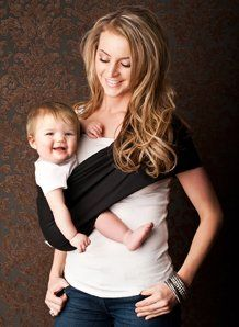 Seven Everyday Slings Baby Carrier Sling Color Black Size 5-large