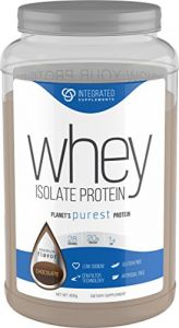 Integrated Supplements Cfm Whey Protein Isolate Diet Supplement, Dutch Chocolate, 2 Pound