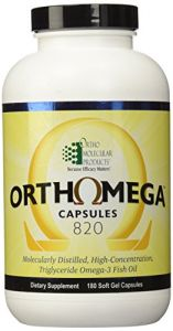 Ortho Molecular - Orthomega Omega 3 Fish Oil 180 Softgels