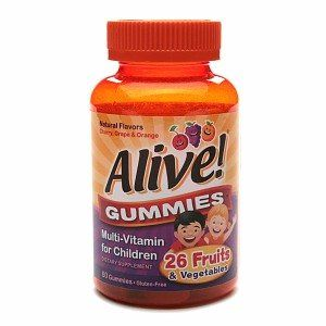 Natures Way Alive Multivitamin For Childrens Gummies - 60 Ea