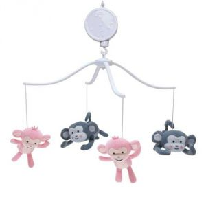 Bedtime Originals Musical Mobile, Pinkie