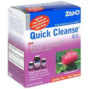 Zand Quick Cleanse Program Kit 3pc