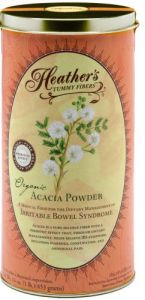 "Heather""s Tummy Fiber Can Organic Acacia Senegal (16 Oz) For Ibs"