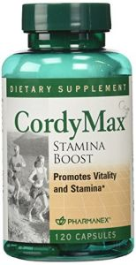 Nu Skin Pharmanex Cordymax Stamina Boost (120-ct)