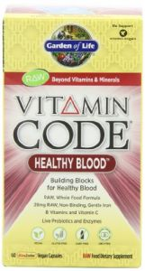Garden Of Life Vitamin Code - Healthy Blood, 60 Capsules