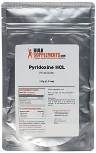 Bulksupplements Pure Vitamin B6 (pyridoxine Hcl) Powder (100 Grams)